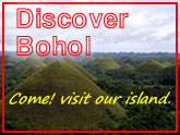 Discover Bohol - Bohol tourism - Information on Bohol - Chocolate HIlls - Panglao Beaches - Anda Beaches - Balicasag - Bohol diving - Alona Beach - Zip line