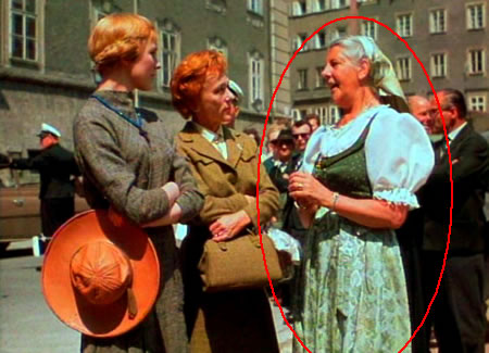 Sound of Music -  Maria Von Trapp - visiting the set