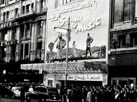 Sound of Music - Movie opening day - rare photos