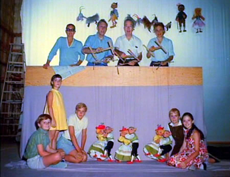 Sound of Music - Lonely Goatherd - with Puppeteers - rare photos